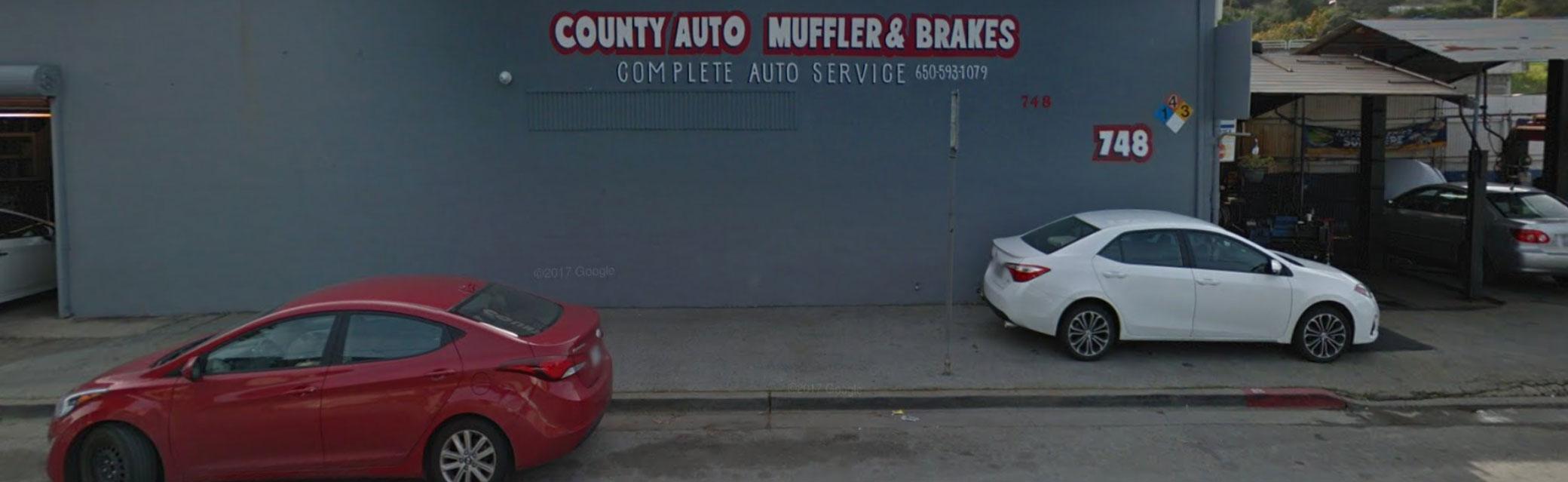 County Auto Muffler & Brakes Catalytic Converter Belmont